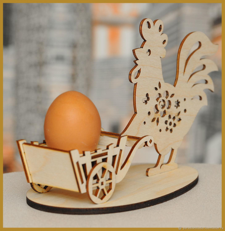 Stand for Easter eggs ' Cockerel', Eggs, Kotlas,  Фото №1