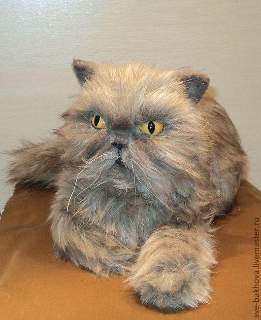 """Игрушки животные, ручной работы. Ярмарка Мастеров - ручная работа. Купить игрушка """" Котик""""( с портретным сходством).. Handmade."""