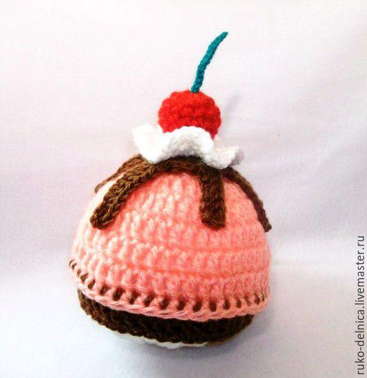 шапочка для фотосессии новорожденного пироженко