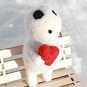 """Куклы и игрушки ручной работы. Ярмарка Мастеров - ручная работа Войлочная игрушка """"Влюбленный Дух Леса"""". Handmade."""