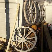 Для дома и интерьера ручной работы. Ярмарка Мастеров - ручная работа Декоративное дубовое колесо и разные предметы с ним. Handmade.