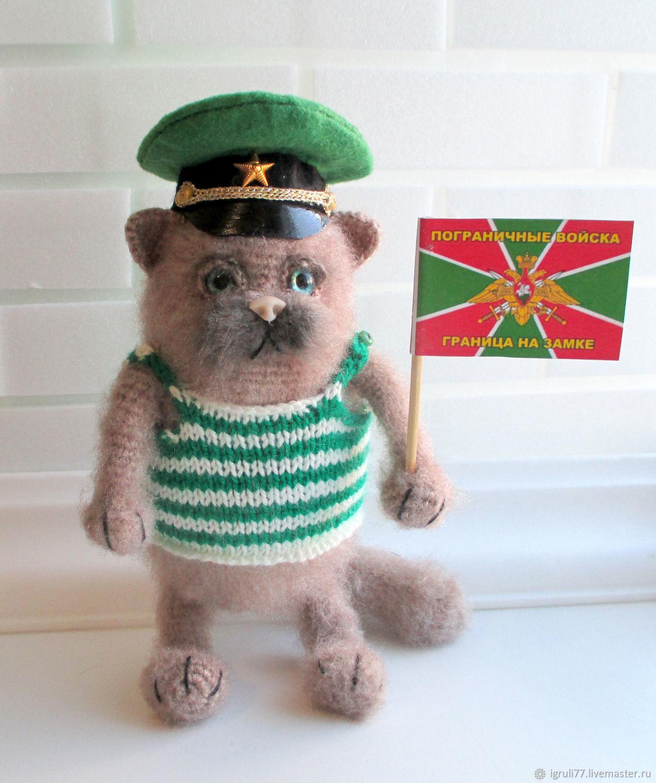 Кот пограничник, Мягкие игрушки, Таганрог,  Фото №1
