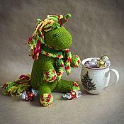 Куклы и игрушки ручной работы. Ярмарка Мастеров - ручная работа Вязаный единорог Midori. Handmade.