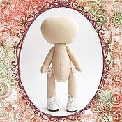 Материалы для творчества handmade. Livemaster - original item Textile doll sewing kit, how to sew a doll. Handmade.