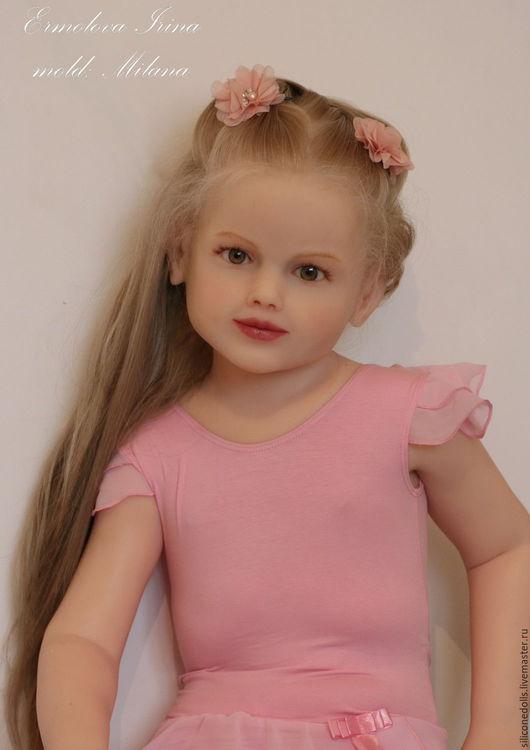 авторская кукла из силикона Милана