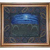 Картины и панно ручной работы. Ярмарка Мастеров - ручная работа Луна. Handmade.