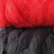Материалы для творчества handmade. Livemaster - original item Set Red and Black. Handmade.
