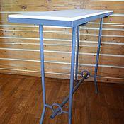 """Для дома и интерьера ручной работы. Ярмарка Мастеров - ручная работа Барный металлический стол """"Курт"""". Handmade."""