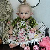Куклы и игрушки handmade. Livemaster - original item Doll reborn Ophelia (mini mold Ofelia by Olga Auer). Handmade.