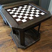 """Столы ручной работы. Ярмарка Мастеров - ручная работа Журнальный столик """"Шахматы"""". Handmade."""