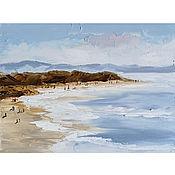 Картины и панно handmade. Livemaster - original item Oil painting Sea coast Seascape. Handmade.
