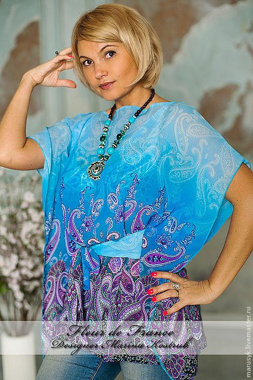 Купить блузку тунику
