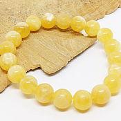 Украшения handmade. Livemaster - original item Calcite bracelet Yellow sun. Handmade.