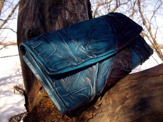 Женские сумки ручной работы. Ярмарка Мастеров - ручная работа. Купить клатч. Handmade. Клатч, кожа