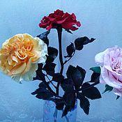 Цветы и флористика ручной работы. Ярмарка Мастеров - ручная работа Пионовидные розы сорта Миранда. Handmade.