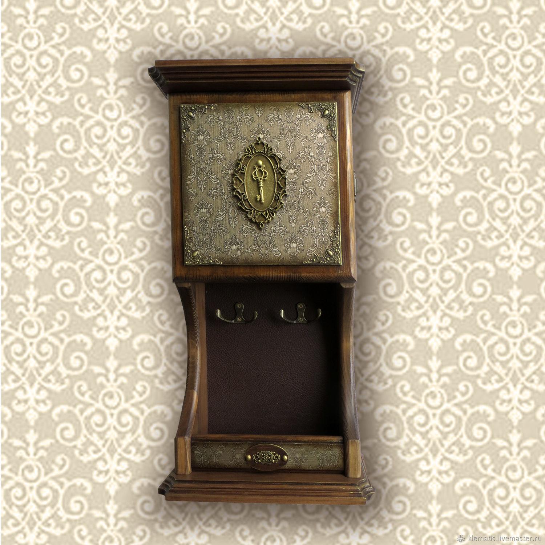 Ключница настенная Старое золото, Ключницы, Кропоткин,  Фото №1
