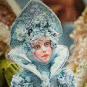 Куклы и пупсы ручной работы. Ярмарка Мастеров - ручная работа Кукла Снегурочка. Handmade.