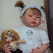 Куклы и игрушки ручной работы. Ярмарка Мастеров - ручная работа Кукла Реборн Нюша.. Handmade.