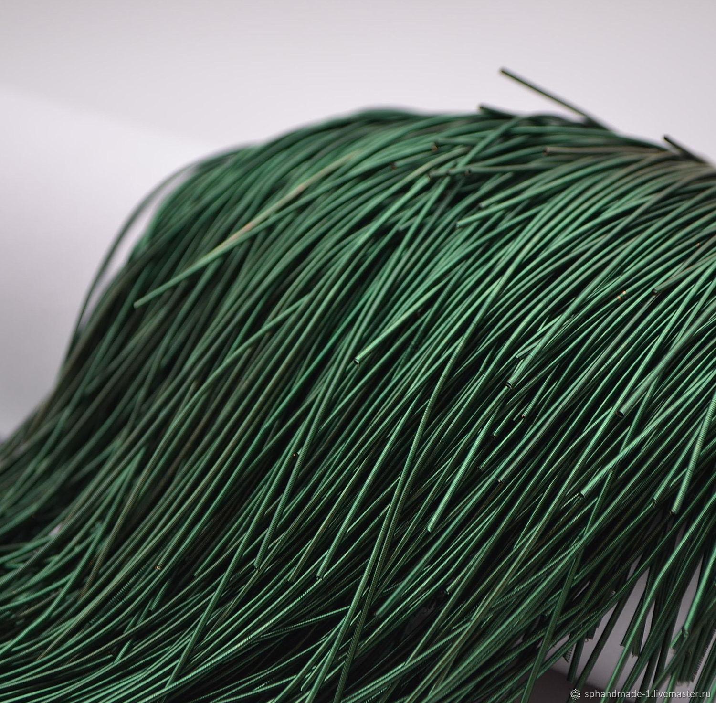 Канитель мягкая / Emerald / 1 мм / 5гр, Проволоки, Нижний Новгород,  Фото №1