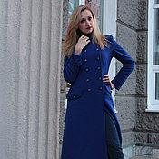 Одежда ручной работы. Ярмарка Мастеров - ручная работа Демисезонное пальто в стиле милитари. Handmade.