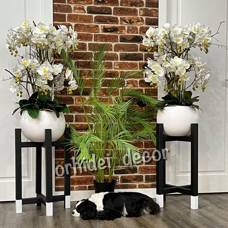 Интерьерная композиция из латексных орхидей, Композиции, Краснодар,  Фото №1