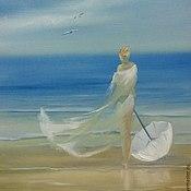 Картины и панно ручной работы. Ярмарка Мастеров - ручная работа Мечта о море. Handmade.
