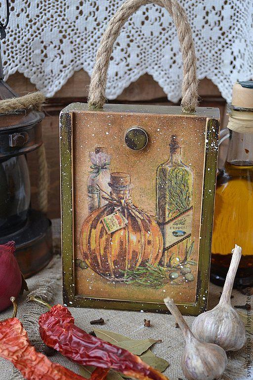 """Корзины, коробы ручной работы. Ярмарка Мастеров - ручная работа. Купить Короб """"Ароматные пряности"""". Handmade. Короб, специи"""
