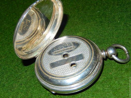Винтажные украшения. Ярмарка Мастеров - ручная работа. Купить Атикварные серебряные карманные часы конец хiх века. Handmade. Серебряный