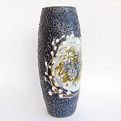 Для дома и интерьера ручной работы. Ярмарка Мастеров - ручная работа Ваза для цветов.. Handmade.