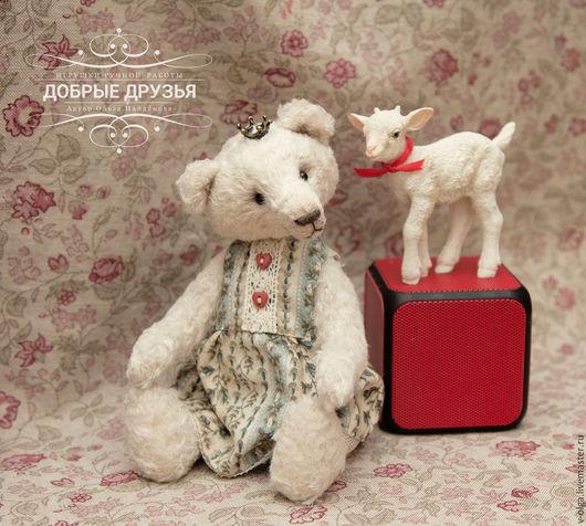 Мишки Тедди ручной работы. Ярмарка Мастеров - ручная работа. Купить Мишка тедди принцесса Дора. Handmade. Белый, принцесса