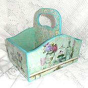 Для дома и интерьера handmade. Livemaster - original item Box for spices Turquoise. Handmade.