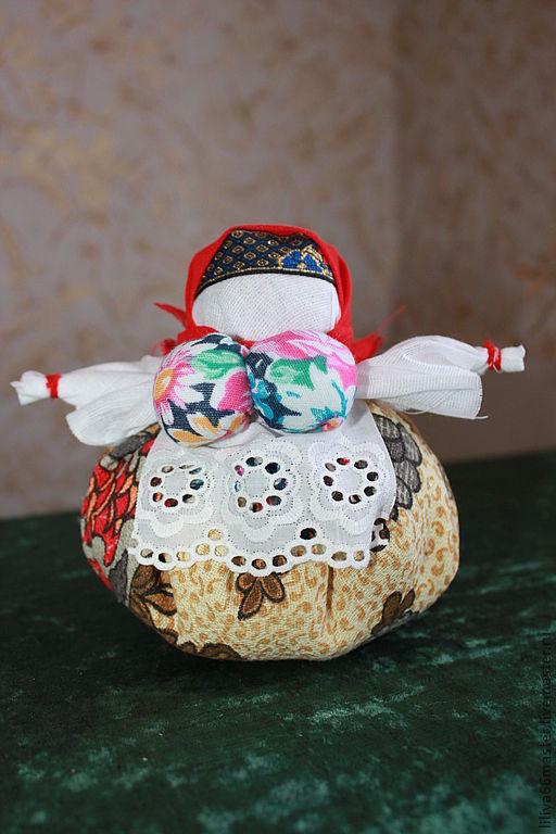 Коллекционные куклы ручной работы. Ярмарка Мастеров - ручная работа. Купить Кубышка-травница. Handmade. Кукла-оберег, сувениры и подарки