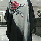 Одежда handmade. Livemaster - original item Tunic Cape batik