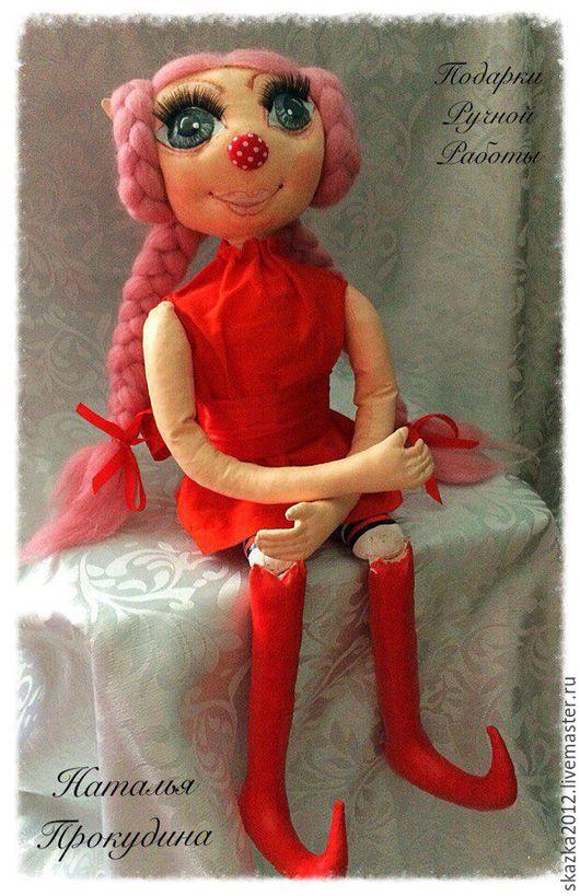 Коллекционные куклы ручной работы. Ярмарка Мастеров - ручная работа. Купить Кукла -эльф Фиона.. Handmade. Авторская ручная работа