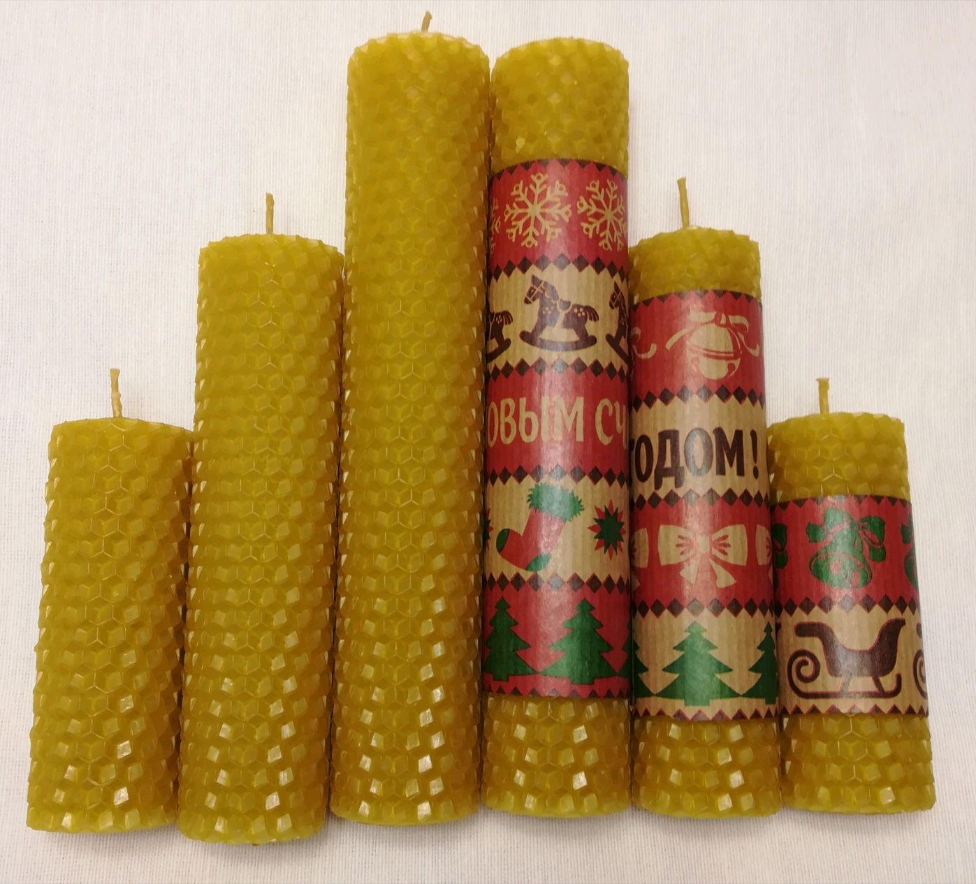Медовая свеча, Свечи, Люберцы,  Фото №1