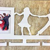 Для дома и интерьера ручной работы. Ярмарка Мастеров - ручная работа Медальница с фото рамкой. Handmade.