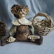 Куклы и игрушки handmade. Livemaster - original item Hand made ceramics.Figurine of