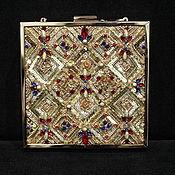 Сумки и аксессуары handmade. Livemaster - original item Clutch with Luneville embroidery. Handmade.