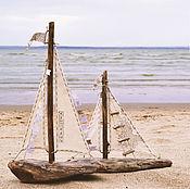 Подарки к праздникам ручной работы. Ярмарка Мастеров - ручная работа кораблики. Handmade.