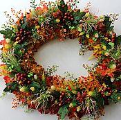 Цветы и флористика handmade. Livemaster - original item Wreath interior