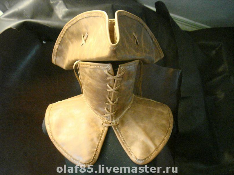 Шляпы из кожи мастер класс пошагово #3