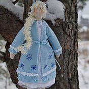 Куклы и игрушки ручной работы. Ярмарка Мастеров - ручная работа Снегурка в голубом. Handmade.