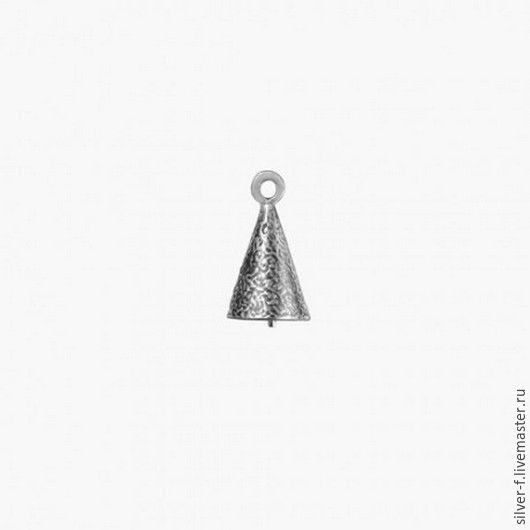 Колпачок штифт серебро №5, Фурнитура, Днепр, Фото №1