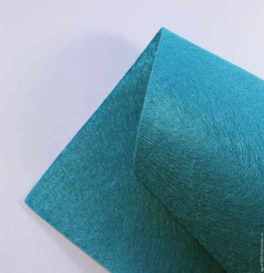 Для украшений ручной работы. Ярмарка Мастеров - ручная работа. Купить Фетр основа для вышивки 20х30 см А4 Морская волна. Handmade.