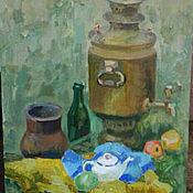 """Картины и панно ручной работы. Ярмарка Мастеров - ручная работа Картина """"Завтрак на траве"""". Handmade."""