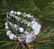 Украшения handmade. Livemaster - original item Bracelet of Ice and Icicles wild quartz. Handmade.