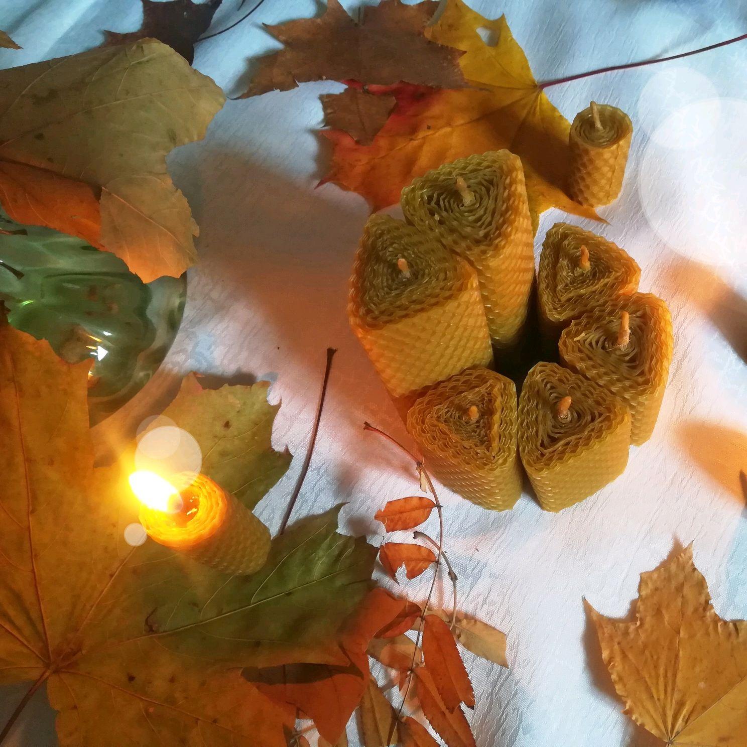 Треугольные свечи из вощины, Свечи, Рязань,  Фото №1