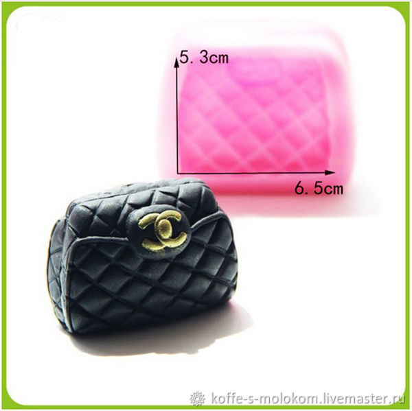 0914061be5d6 Cosmetic Materials handmade. Livemaster - handmade. Buy Silicone molds for soap  CHANEL Wallet.