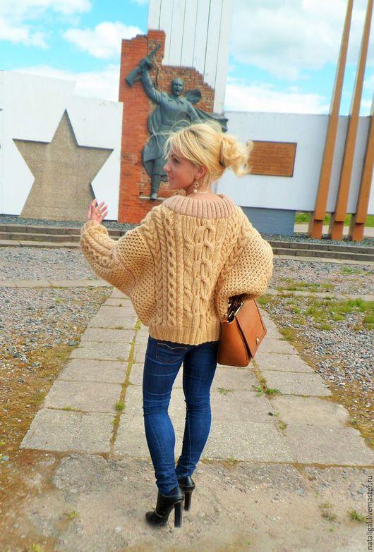 Кофты и свитера ручной работы. Ярмарка Мастеров - ручная работа. Купить Модный современный свитер. Handmade. Не дорого, купить