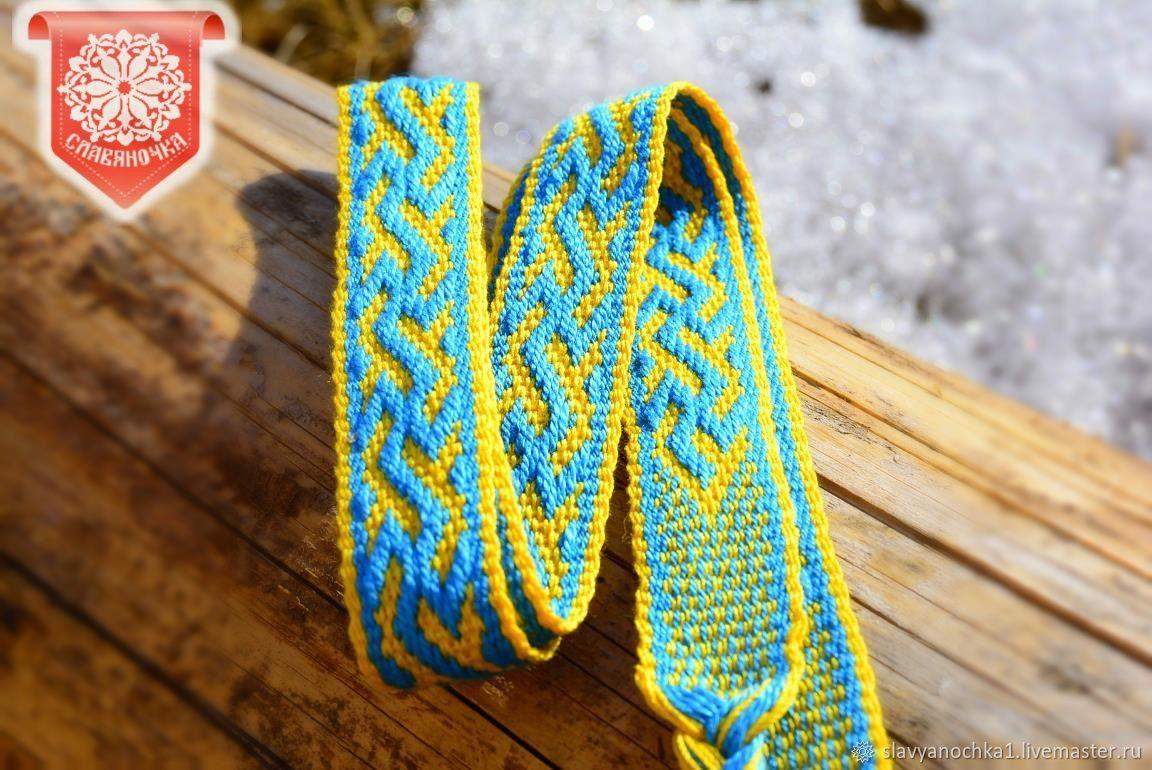 England yellow and blue eyeglass, Headbands, Chrysostom,  Фото №1